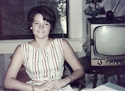 Marilyn Buck as teenager